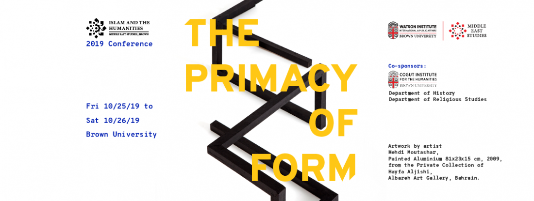 The Primacy of Form 2019 Conference